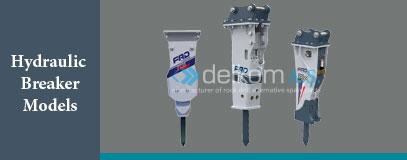 Hydraulic Breaker Models furukawa